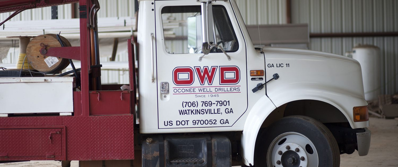 Oconee Well Drillers in Watkinsville Georgia